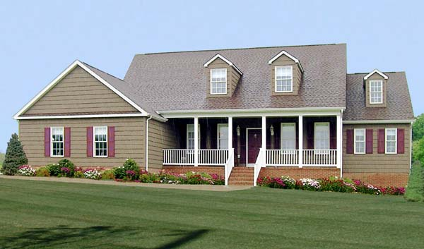 Country House Plan 69501 Elevation