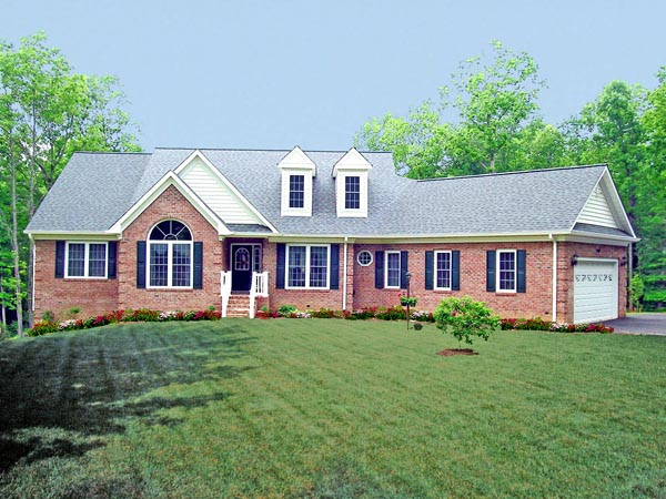 Country House Plan 69502 Elevation