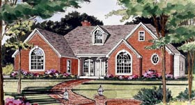 Country European House Plan 69510 Elevation
