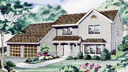 Contemporary House Plan 69519 Elevation