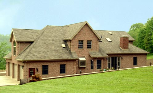 House Plan 69520 | Country Farmhouse Style Plan with 2874 Sq Ft, 4 Bedrooms, 3 Bathrooms, 3 Car Garage Rear Elevation