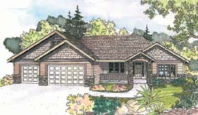 Traditional House Plan 69602 Elevation
