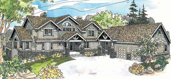 Country House Plan 69603 Elevation
