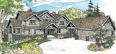Plan Number 69603 - 3641 Square Feet