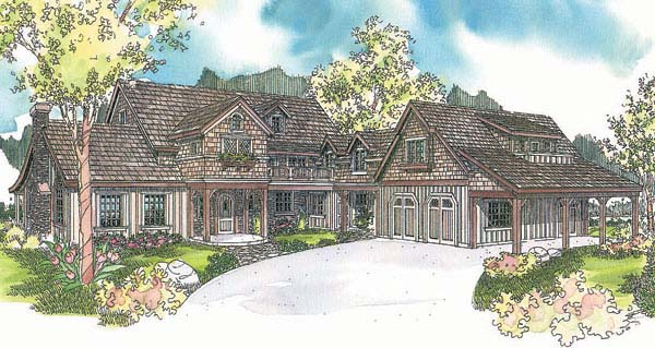 Country House Plan 69604 Elevation