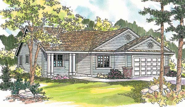Ranch House Plan 69606 Elevation