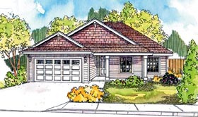 Country Craftsman Ranch House Plan 69610 Elevation