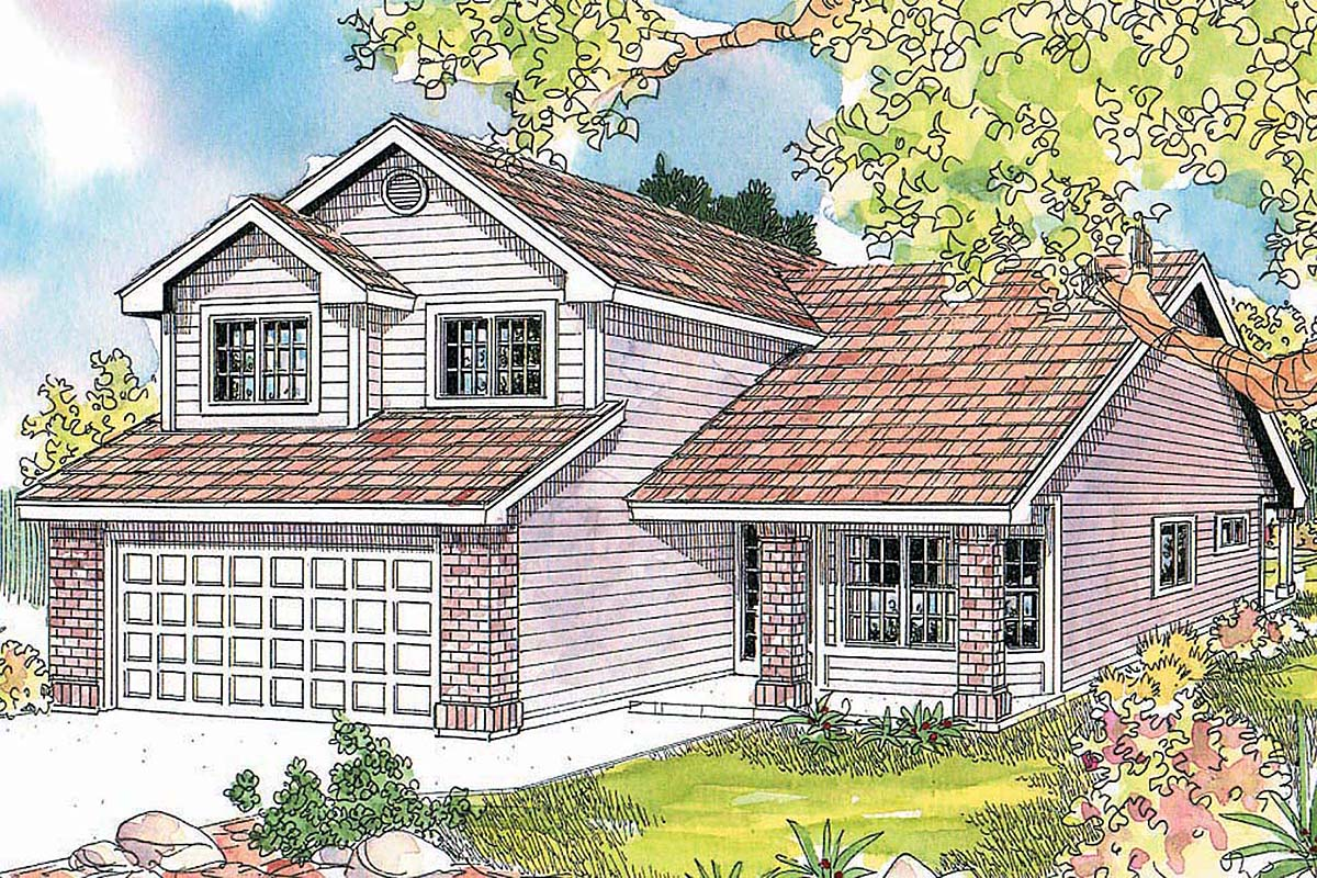 Country House Plan 69612 Elevation