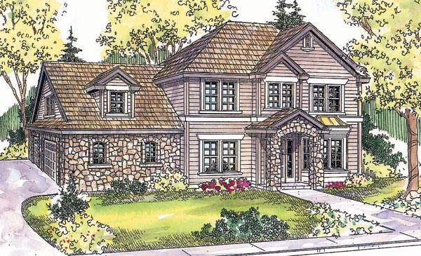 Country Traditional House Plan 69615 Elevation