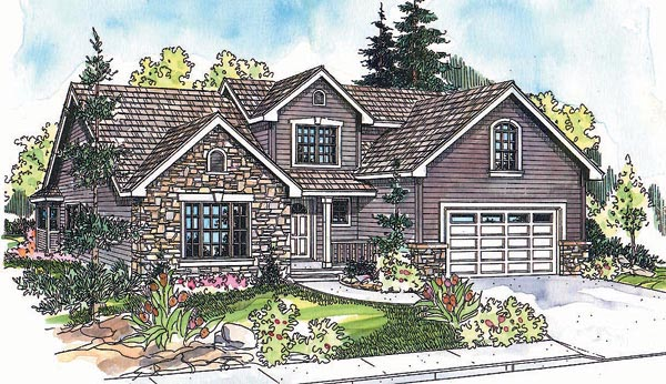 Traditional House Plan 69619 Elevation