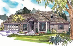 Traditional House Plan 69622 Elevation