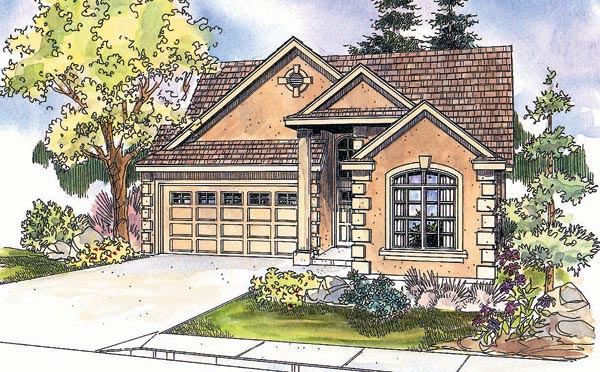 Traditional House Plan 69623 Elevation