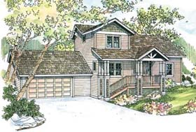 Country House Plan 69657 Elevation