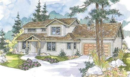 Contemporary House Plan 69660 Elevation