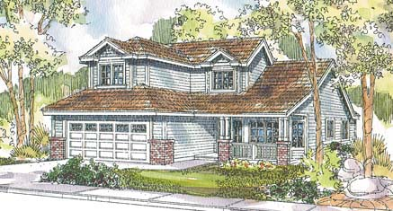 Country House Plan 69668 Elevation