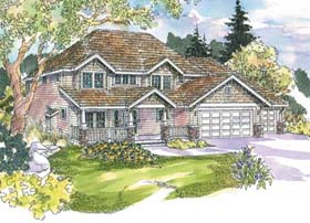 Country House Plan 69669 Elevation