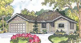 Traditional House Plan 69673 Elevation