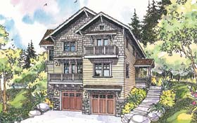Craftsman House Plan 69674 Elevation