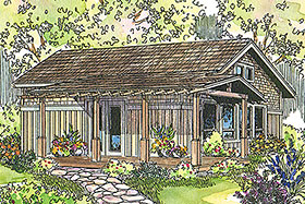 Traditional House Plan 69676 Elevation