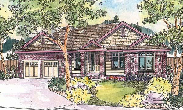 Craftsman House Plan 69678 Elevation