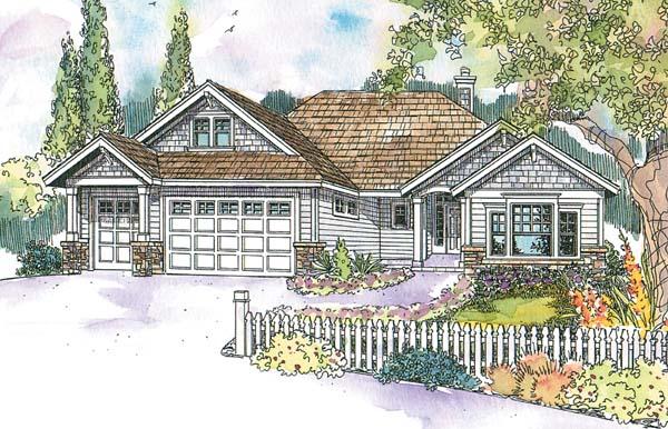 Craftsman House Plan 69679 Elevation