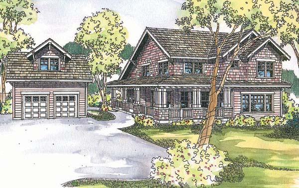 Craftsman Farmhouse House Plan 69683 Elevation