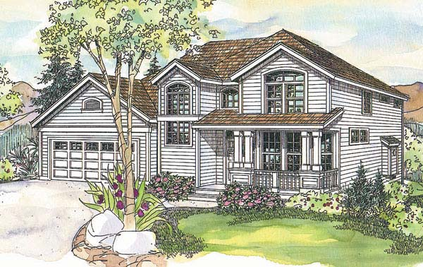 Traditional House Plan 69684 Elevation