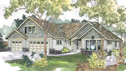 Traditional House Plan 69685 Elevation