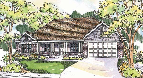 Traditional House Plan 69686 Elevation