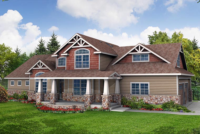 Craftsman House Plan 69689 Elevation