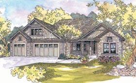 Craftsman Tudor House Plan 69692 Elevation