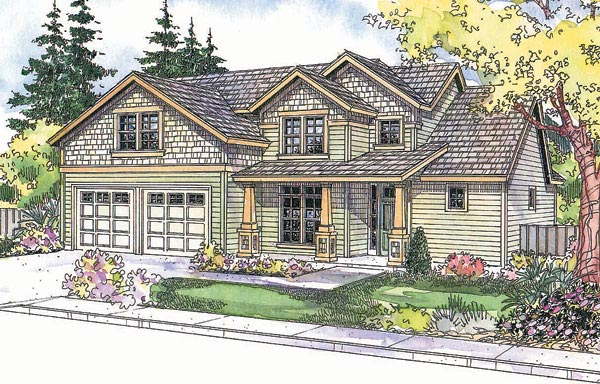 Craftsman House Plan 69693 Elevation