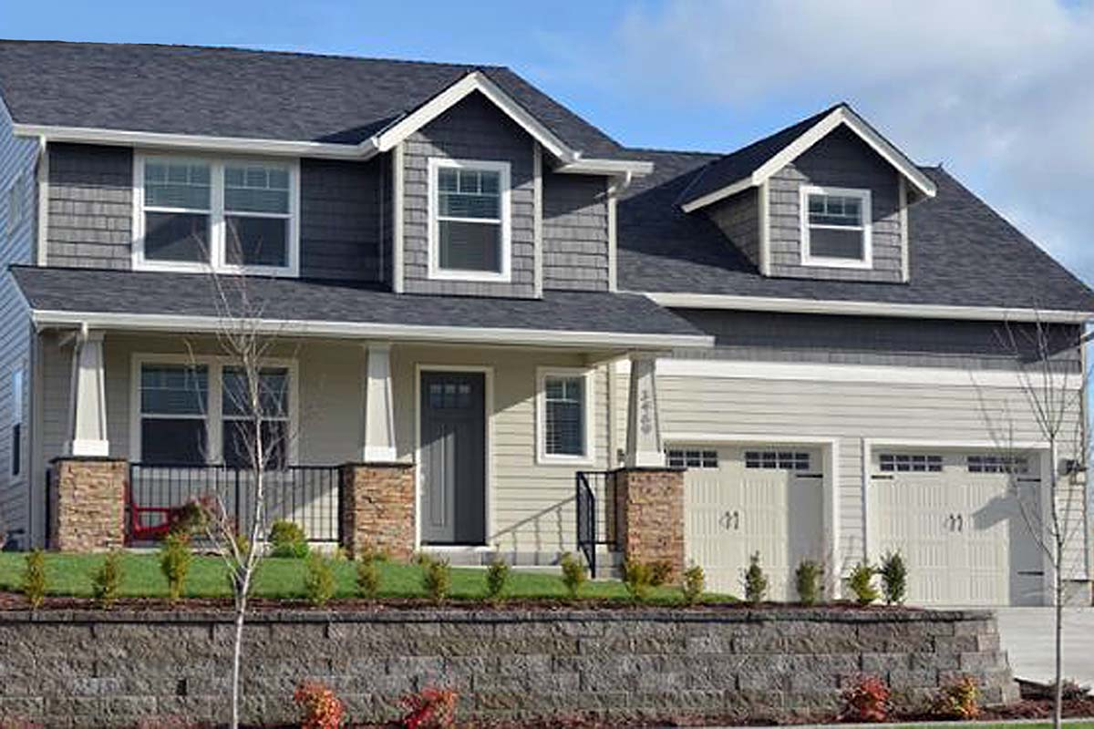 Craftsman House Plan 69695 Elevation