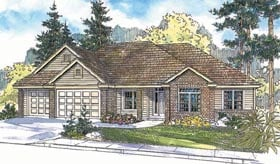 Traditional House Plan 69699 Elevation