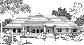 Plan Number 69701 - 2614 Square Feet