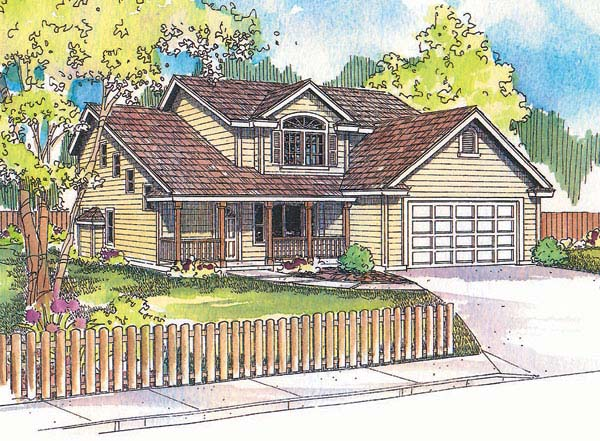 Country House Plan 69706 Elevation