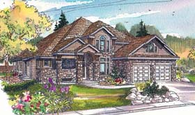 Craftsman House Plan 69707 Elevation