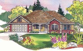 Traditional House Plan 69709 Elevation