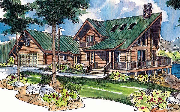 House Plan 69724 Elevation