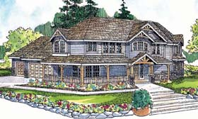 Country Farmhouse House Plan 69728 Elevation