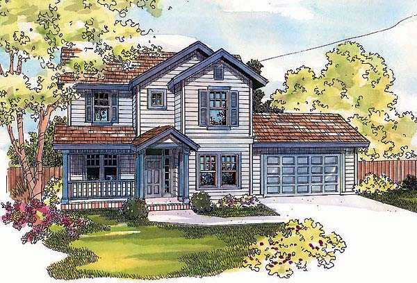 Country Traditional House Plan 69732 Elevation