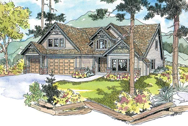 Craftsman House Plan 69734 Elevation