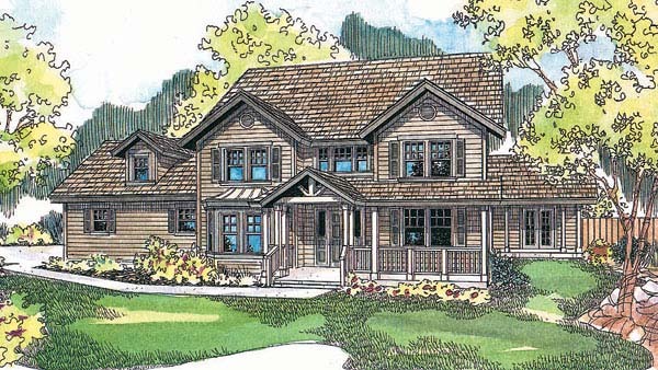 Traditional House Plan 69736 Elevation
