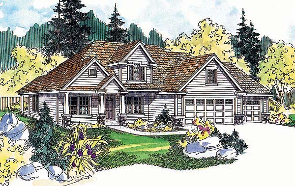 Traditional House Plan 69739 Elevation