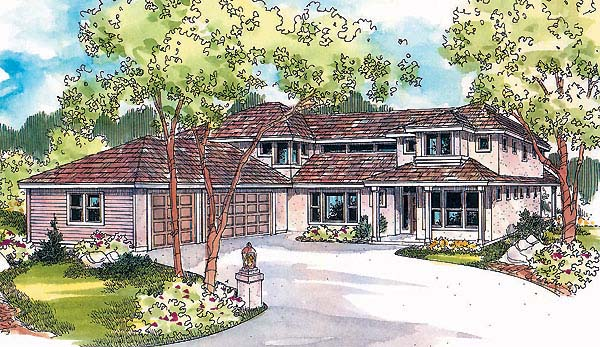 Contemporary Florida House Plan 69740 Elevation