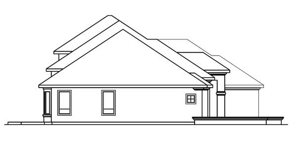 European, Mediterranean House Plan 69743 with 3 Beds, 3.5 Baths, 3 Car Garage Picture 1