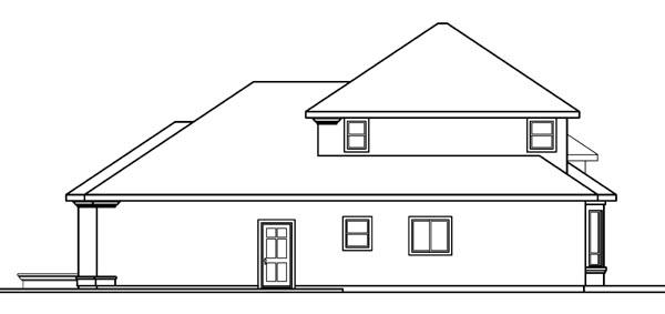 European, Mediterranean House Plan 69743 with 3 Beds, 3.5 Baths, 3 Car Garage Picture 2