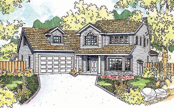 Country Traditional House Plan 69746 Elevation