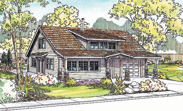 Bungalow Ranch House Plan 69747 Elevation
