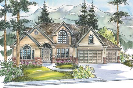 Traditional House Plan 69752 Elevation